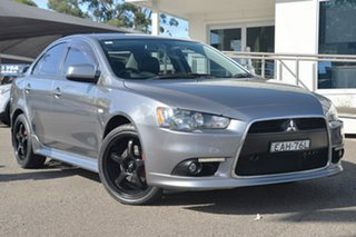 2013 Mitsubishi Lancer CJ MY13 VR-X Titanium 5 Speed Manual Sedan.