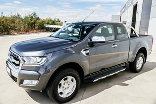 2016 Ford Ranger PX MkII XLT 3.2 (4x4) Meteor Grey 6 Speed Automatic Dual Cab Utility.