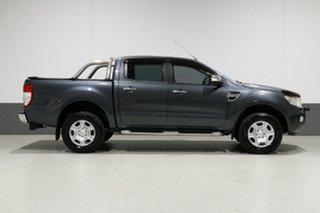 2014 Ford Ranger PX XLT 3.2 (4x4) Grey 6 Speed Automatic Dual Cab Utility