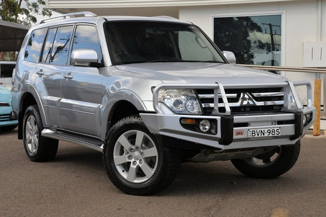 Used Mitsubishi Pajero NS 25th Anniversary, 2008 Mitsubishi Pajero NS 25th Anniversary Silver 5 Speed Sports Automatic Wagon