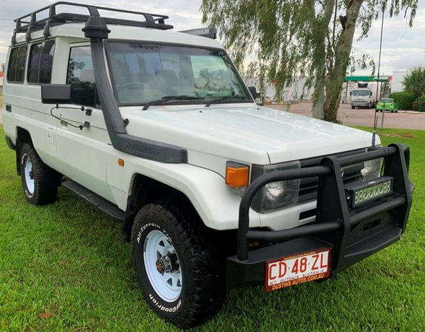 Used Toyota Landcruiser HZJ75RV Troopcarrier, 1998 Toyota Landcruiser HZJ75RV Troopcarrier White 5 Speed Manual Hardtop