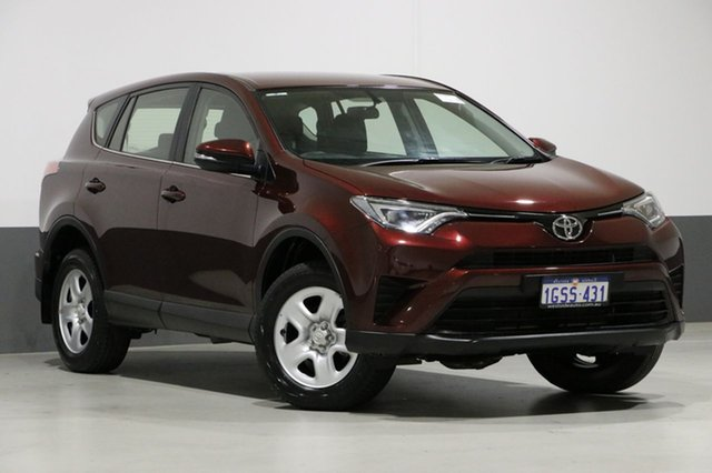 Used Toyota RAV4 ASA44R MY17 GX (4x4), 2017 Toyota RAV4 ASA44R MY17 GX (4x4) Red 6 Speed Automatic Wagon