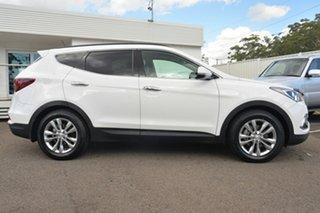 2016 Hyundai Santa Fe DM3 MY17 Elite White 6 Speed Sports Automatic Wagon.