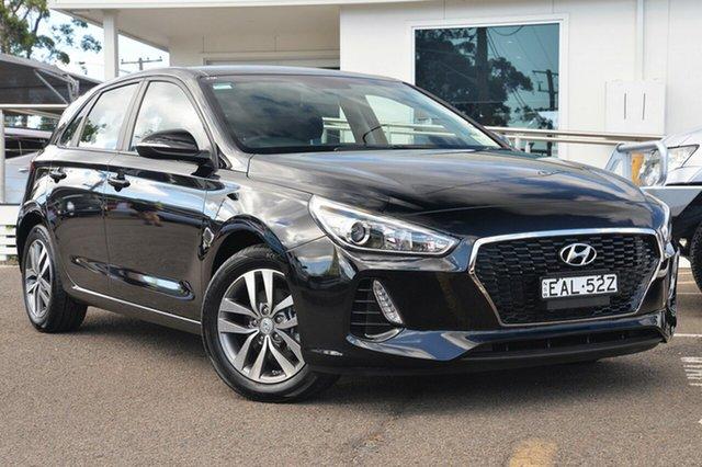 Used Hyundai i30 PD MY18 Active, 2017 Hyundai i30 PD MY18 Active Phantom Black 6 Speed Sports Automatic Hatchback