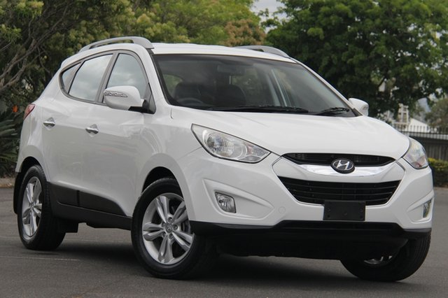 Used Hyundai ix35 LM3 MY14 Elite AWD, 2013 Hyundai ix35 LM3 MY14 Elite AWD White 6 Speed Sports Automatic Wagon