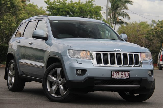 Used Jeep Grand Cherokee WK MY2012 Limited, 2012 Jeep Grand Cherokee WK MY2012 Limited Blue 5 Speed Sports Automatic Wagon
