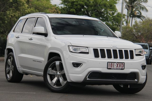Used Jeep Grand Cherokee WK MY2014 Overland, 2014 Jeep Grand Cherokee WK MY2014 Overland White 8 Speed Sports Automatic Wagon