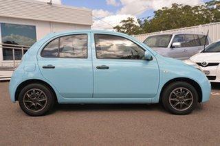 2009 Nissan Micra K12 Blue 4 Speed Automatic Hatchback.