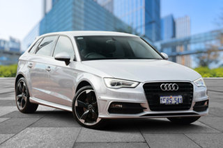 2014 Audi A3 8V Ambition Sportback S tronic Silver 7 Speed Sports Automatic Dual Clutch Hatchback.