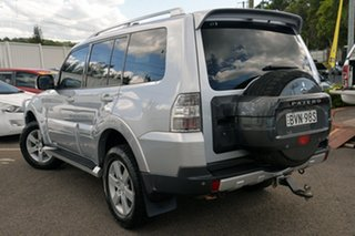 2008 Mitsubishi Pajero NS 25th Anniversary Silver 5 Speed Sports Automatic Wagon.