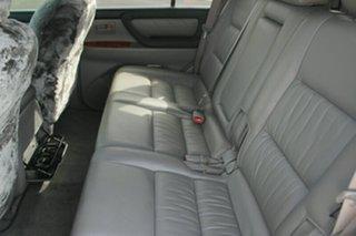 2006 Toyota Landcruiser HDJ100R Sahara Black 5 Speed Automatic Wagon