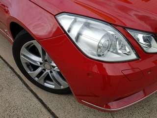 2010 Mercedes-Benz E250 CGI C207 Elegance Red 5 Speed Sports Automatic Coupe.