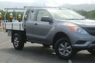 2013 Mazda BT-50 UP0YF1 XT Freestyle 4x2 Hi-Rider Titanium Grey 6 Speed Manual Cab Chassis.