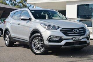 2017 Hyundai Santa Fe DM5 MY18 Active Platinum Silver 6 Speed Sports Automatic Wagon.