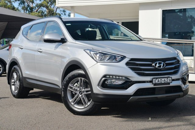 Used Hyundai Santa Fe DM5 MY18 Active, 2017 Hyundai Santa Fe DM5 MY18 Active Platinum Silver 6 Speed Sports Automatic Wagon