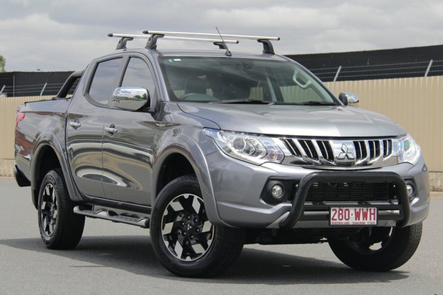 Used Mitsubishi Triton MQ MY16 Exceed Double Cab, 2016 Mitsubishi Triton MQ MY16 Exceed Double Cab Grey 5 Speed Sports Automatic Utility
