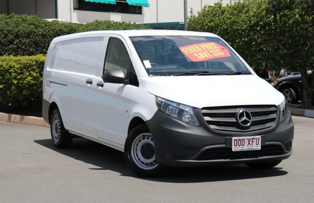Used Mercedes-Benz Vito 447 114BlueTEC LWB 7G-Tronic +, 2017 Mercedes-Benz Vito 447 114BlueTEC LWB 7G-Tronic + White 7 Speed Sports Automatic Van
