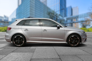 2014 Audi A3 8V Ambition Sportback S tronic Silver 7 Speed Sports Automatic Dual Clutch Hatchback