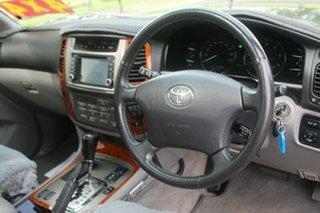 2006 Toyota Landcruiser HDJ100R Sahara Black 5 Speed Automatic Wagon.