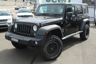 2018 Jeep Wrangler Unlimited JK MY18 Sport (4x4) Black 5 Speed Automatic Softtop.