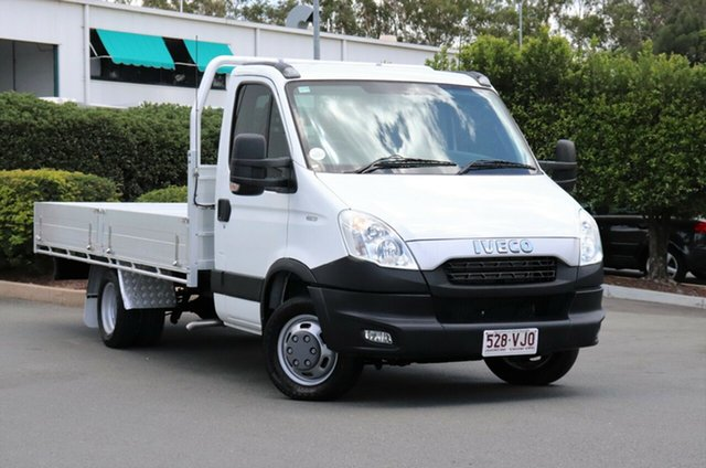 Used Iveco Daily MY12 45C17 MWB, 2014 Iveco Daily MY12 45C17 MWB White Cab Chassis 3.0l RWD