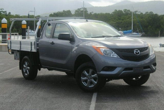 Used Mazda BT-50 UP0YF1 XT Freestyle 4x2 Hi-Rider, 2013 Mazda BT-50 UP0YF1 XT Freestyle 4x2 Hi-Rider Titanium Grey 6 Speed Manual Cab Chassis
