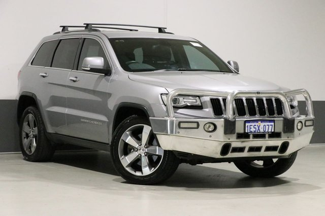 Used Jeep Grand Cherokee WK MY15 Limited (4x4), 2015 Jeep Grand Cherokee WK MY15 Limited (4x4) Silver 8 Speed Automatic Wagon