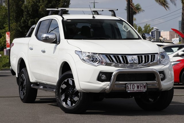 Used Mitsubishi Triton MQ MY16 Exceed Double Cab, 2016 Mitsubishi Triton MQ MY16 Exceed Double Cab White 5 Speed Sports Automatic Utility
