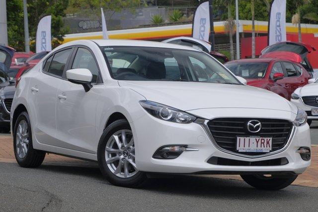 Demo Mazda 3 BN5278 Maxx SKYACTIV-Drive Sport, 2018 Mazda 3 BN5278 Maxx SKYACTIV-Drive Sport Snowflake White 6 Speed Sports Automatic Sedan