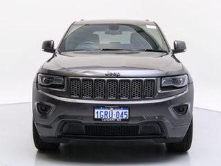 2015 Jeep Grand Cherokee WK MY15 Blackhawk (4x4) Black 8 Speed Automatic Wagon.