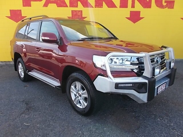 Used Toyota Landcruiser VDJ200R GXL, 2017 Toyota Landcruiser VDJ200R GXL Red 6 Speed Sports Automatic Wagon