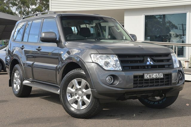 Used Mitsubishi Pajero NW MY14 GLX-R, 2014 Mitsubishi Pajero NW MY14 GLX-R Graphite 5 Speed Sports Automatic Wagon