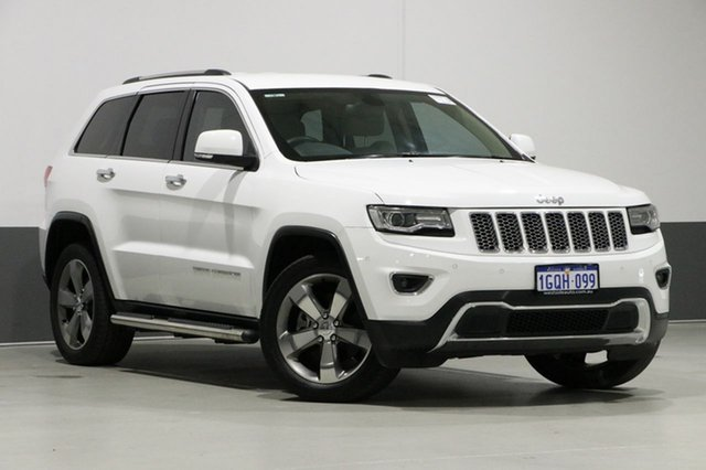 Used Jeep Grand Cherokee WK MY14 Limited (4x4), 2013 Jeep Grand Cherokee WK MY14 Limited (4x4) White 8 Speed Automatic Wagon