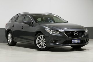 2013 Mazda 6 6C Touring Grey 6 Speed Automatic Wagon.