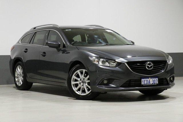 Used Mazda 6 6C Touring, 2013 Mazda 6 6C Touring Grey 6 Speed Automatic Wagon