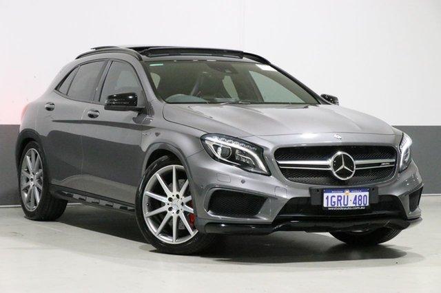 Used Mercedes-Benz GLA180 X156 MY15 , 2014 Mercedes-Benz GLA180 X156 MY15 Mountain Grey 7 Speed Auto Dual Clutch Wagon