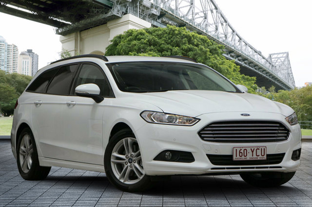 Used Ford Mondeo MD 2018.25MY Ambiente PwrShift, 2018 Ford Mondeo MD 2018.25MY Ambiente PwrShift White 6 Speed Sports Automatic Dual Clutch Wagon
