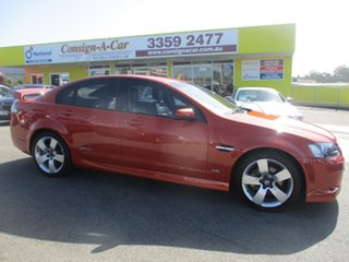 2007 Holden Commodore VE SS V Orange 6 Speed Sports Automatic Sedan.