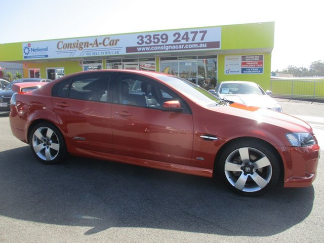 Used Holden Commodore VE SS V, 2007 Holden Commodore VE SS V Orange 6 Speed Sports Automatic Sedan