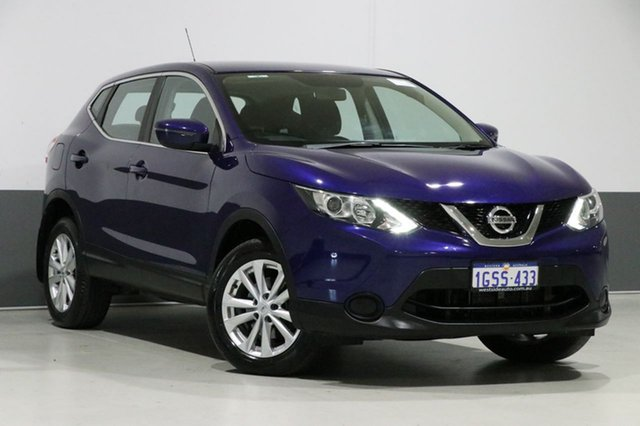 Used Nissan Qashqai J11 ST, 2017 Nissan Qashqai J11 ST Ink Blue Continuous Variable Wagon