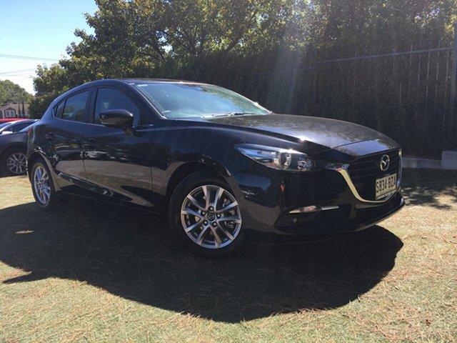 Demo Mazda 3 BN5478 Maxx SKYACTIV-Drive Sport, 2018 Mazda 3 BN5478 Maxx SKYACTIV-Drive Sport Jet Black 6 Speed Sports Automatic Hatchback