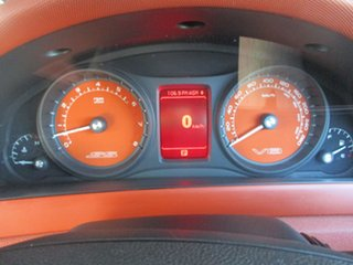 2007 Holden Commodore VE SS V Orange 6 Speed Sports Automatic Sedan
