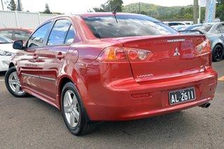 2008 Mitsubishi Lancer CJ MY08 VR Burgundy 6 Speed Constant Variable Sedan.
