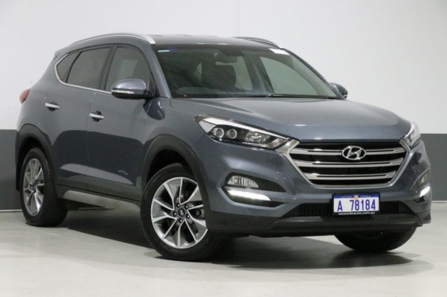 Used Hyundai Tucson TL2 MY18 Elite (AWD), 2018 Hyundai Tucson TL2 MY18 Elite (AWD) Pepper Gray 7 Speed Auto Dual Clutch Wagon