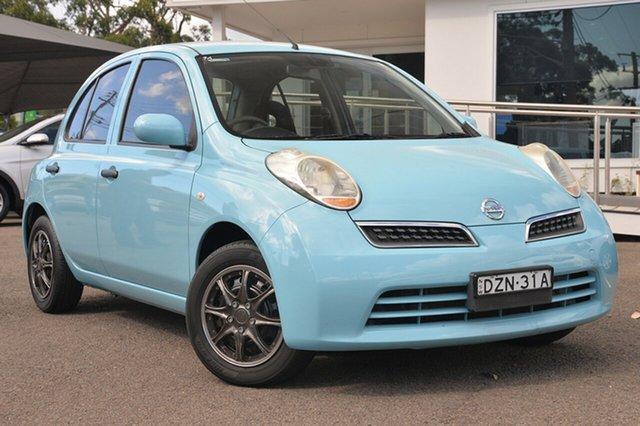 Used Nissan Micra K12 , 2009 Nissan Micra K12 Blue 4 Speed Automatic Hatchback