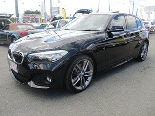 2015 BMW 120i F20 LCI M Sport Steptronic Black 8 Speed Sports Automatic Hatchback.