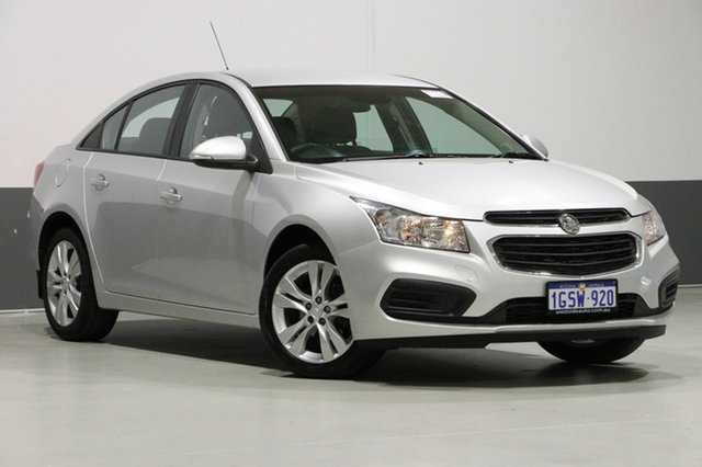Used Holden Cruze JH MY15 Equipe, 2015 Holden Cruze JH MY15 Equipe Silver 6 Speed Automatic Sedan