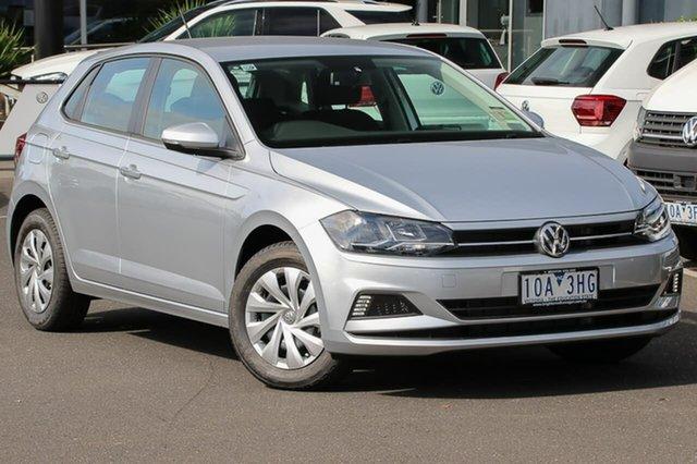 Used Volkswagen Polo AW MY18 70TSI Trendline, 2018 Volkswagen Polo AW MY18 70TSI Trendline Silver 5 Speed Manual Hatchback