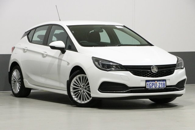 Used Holden Astra BK MY17 R, 2016 Holden Astra BK MY17 R White 6 Speed Automatic Hatchback