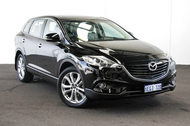 Used Mazda CX-9 MY14 Luxury, 2013 Mazda CX-9 MY14 Luxury Black 6 Speed Auto Activematic Wagon